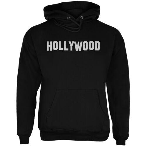 Hollywood Black Adult Hoodie