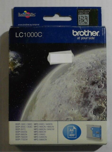 Brother LC1000C Tinte cyan DCP 130C 260C 330 357C Fax 1355 1360 1460  OVP