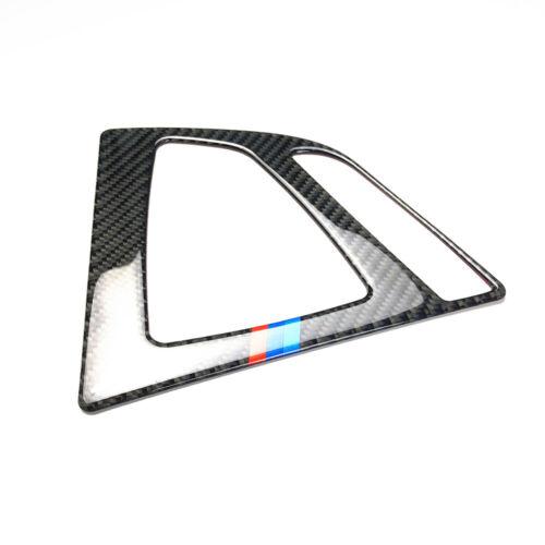 Carbon Fiber Shift Gear Panel Trim M Color Sticker For BMW 3 Series F32 F30 3GT