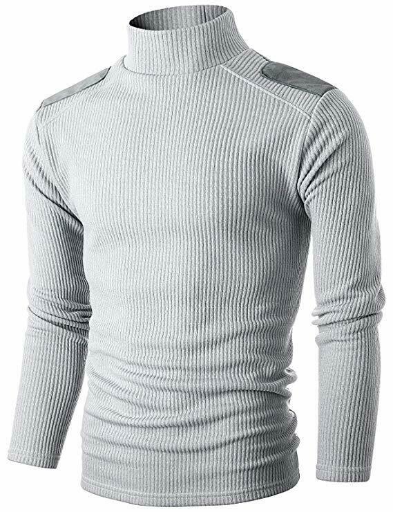 Nautica Long Sleeve Button Mock Neck Sweater