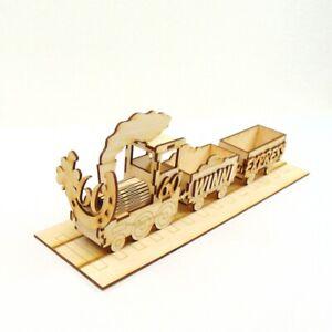 Geburtstag-Zug-50-55-60-65-70-75-80-Geburtstag-mit-Wagons-35cm-lang-mit-Schienen