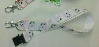Cute Hedgehogs lanyard safety breakaway ID badge holder teacher student gift