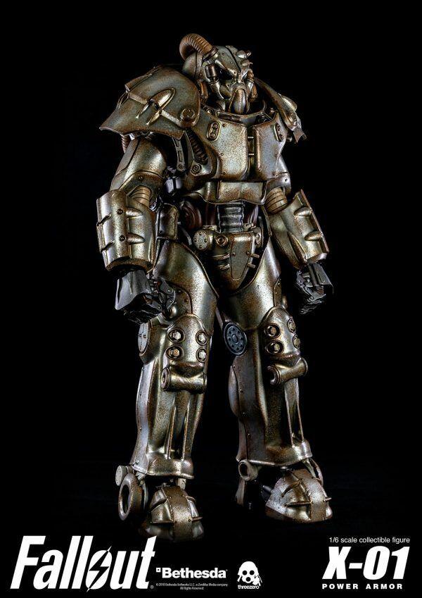 FALLOUT 4 X-01 Power Armor 1 6 Threezero