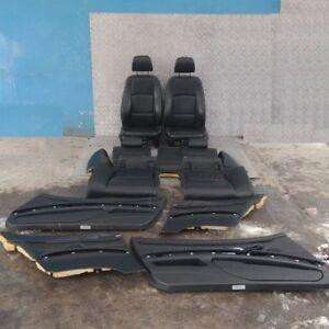 BMW-3-Serie-E92-M-Sport-pelle-Nera-Sedili-Interni-Con-Porta-Carte-E-Memoria