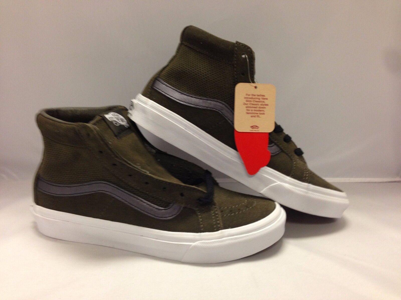 Vans hommes Chaussures ''Sk8'Hi Sim cutout--(Perf Suede)--Tarmac/blanc