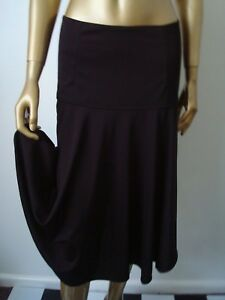 COUNTRY-ROAD-SKIRT-BLACK-DROP-WAIST-FULL-FLARE-CIRCLE-SIZE-SMALL