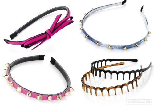 Cool Punk Headband Spike Rivets Studded Band Party Punk Hair Band Gothic Rock