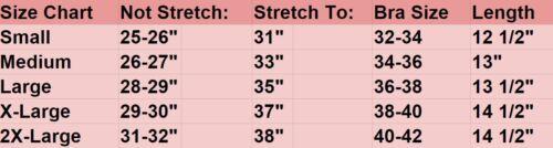 Bustier Corset Waist Cincher Belt Body Shaper Underbust Girdle Control Tummy 220