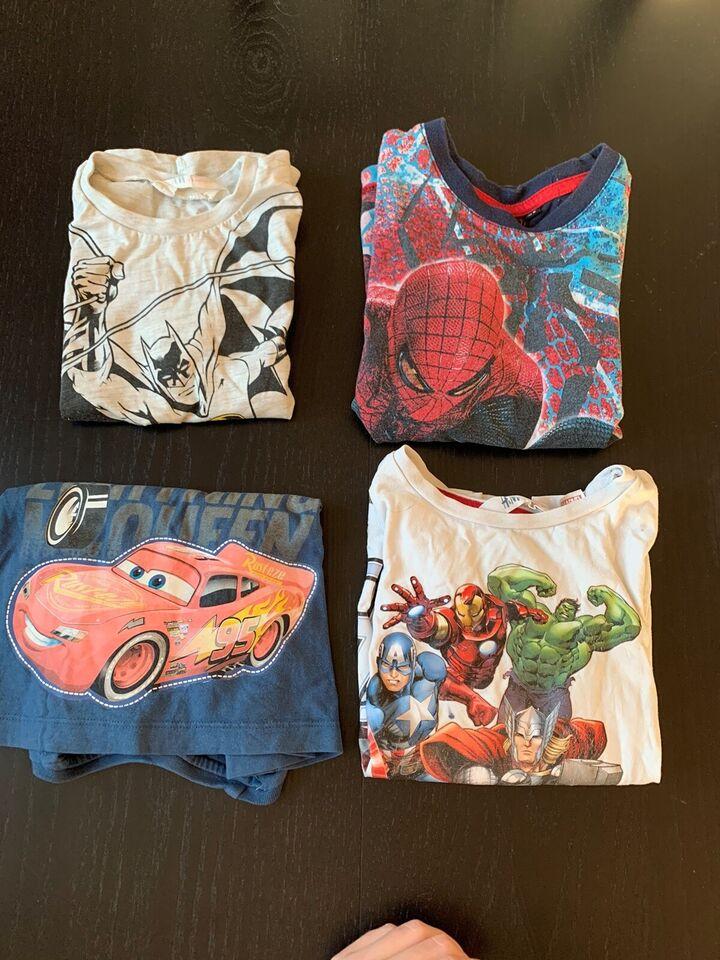 Blandet tøj, Tøjpakke Superhelte/Disney, Blandet