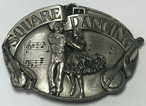 Country Western Music Dance Buckle