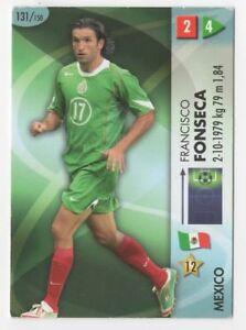 CARD PANINI GOAAAL! WORLD CUP GERMANY 2006 N. 131 FONSECA MESSICO
