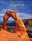 Beginning and Intermediate Algebra: The Language and Symbolism of Mathematics by James W. Hall, Brian A. Mercer (Hardback, 2010)