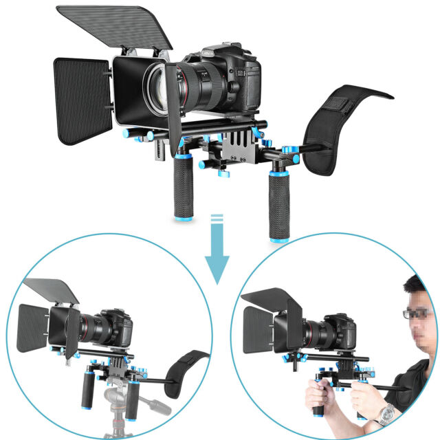 Neewer DSLR Movie Video Making Rig Set System Kit for Camcorder or DSLR Camera