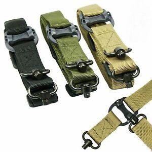 "Retro Tactical Quick Detach QD 1 or 2 Point Multi Mission 1.2"" Rifle Sling Nylon"