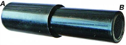 10 mm O//D X 6 mm O//D Tallo Sin Igual Conector B10-02105