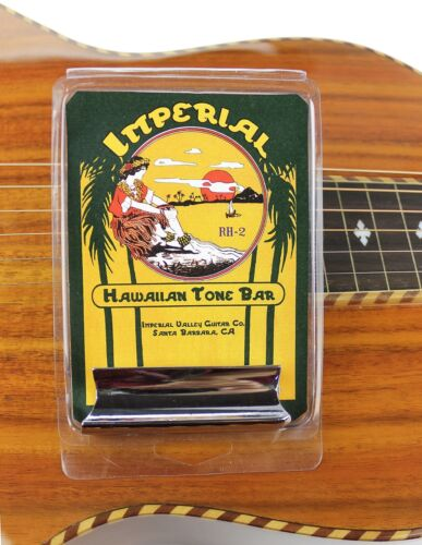 Imperial Valley Guitar Co Lap Steel Cutaway Roundnose Tone BarSlide for Dobro