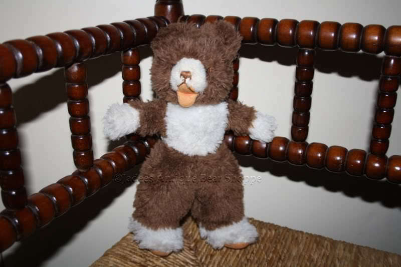 Hermann Soft Standing Zotty Bear Dralon Squeaker 1960s