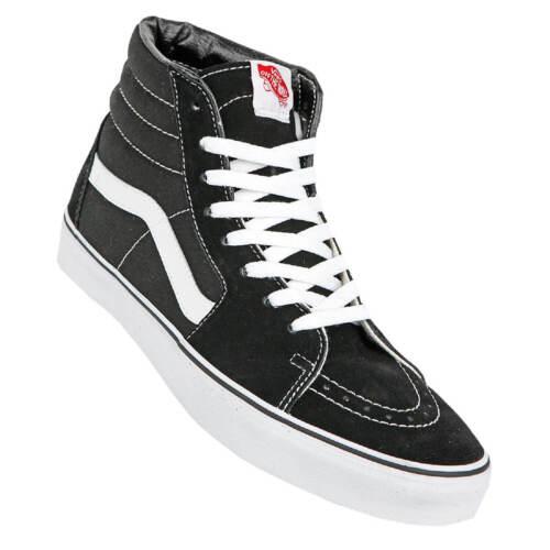 Skate Shoes Unisex Sk8 Negro blanco Hi Mujer Hombre Vans White Black wHnf4xIxRq