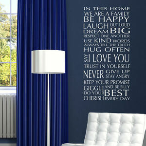 QUOTE-WALL-STICKERS-In-Our-Home-Removable-Art-Decal-Interior-Family-Room-Decor