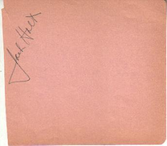 Movies Cards & Papers Jack Holt Autographed Album Page Popular Star Of 1940s Westerns D.51