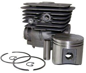 HYWAY-Husqvarna-362-365-371-372-50MM-Kit-Cylindre-Nisic-Neuf-Enduit-1YR-Garantie
