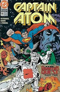 Captain-Atom-Comic-55-Copper-Age-First-Print-1991-Ostrander-Adams-Tanghal-DC