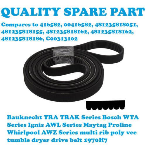 WHIRLPOOL AWZ 2281 AWZ230 AWZ 2303 AWZ2303 Tumble Dryer Drive Belt 1970H7