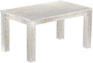 Tisch-Rio-Bonito-Classico-Esstisch-Beistelltisch-massiv-Holz-Pinie-Groesse-waehlbar