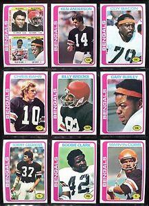 1978-Topps-Cincinnati-Bengals-Team-Set-24-cards-Ken-Anderson