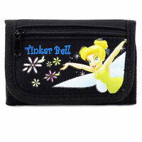 Disney Tinkerbell Black Wallet