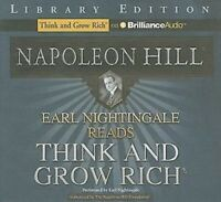 Earl Nightingale Reads Think And Grow Rich Napoleon Hill Audiobook Cds Audio