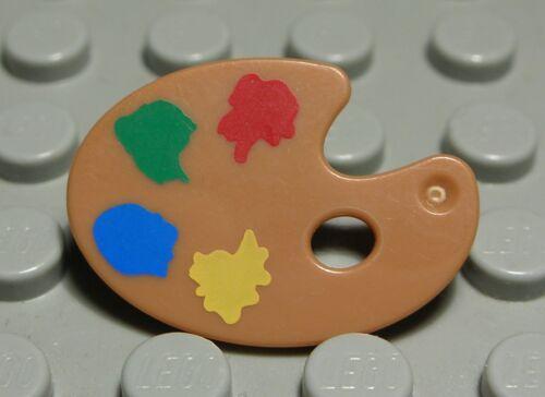 36 # Lego Figur Zubehör Farb Palette