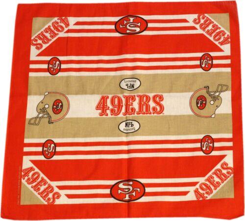 San Francisco 49ers Bandana 22 x 20
