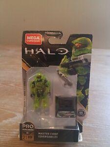 Mega Construx Halo Series 11 Pro Builders Master Chief (Overshield) GLB56| 21pcs