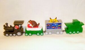 McDonalds-Happy-Meal-Toy-Christmas-Express-Train-2017-4-Piece-Train