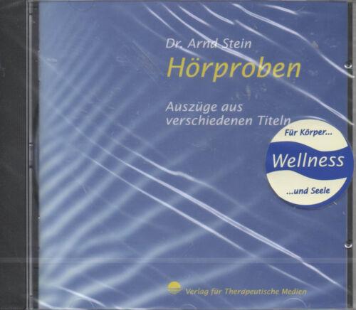 1 von 1 - Dr. Arndt Stein Hörproben Auszüge aus verschiedenen Titeln Wellness CD NEU