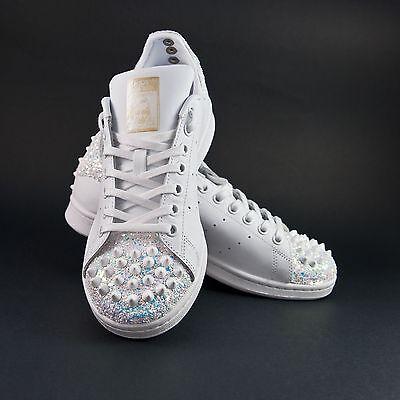 scarpe adidas stan smith con glitter e borchie | eBay