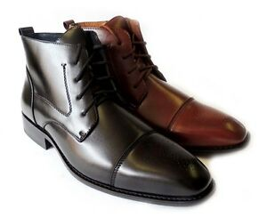 Image is loading NEW-DELLI-ALDO-MENS-ANKLE-BOOTS-LACE-UP-