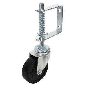 1-x-Spring-Loaded-Gate-Jockey-Wheel-Swivel-Castor-100mm-4-034-Diameter-up-to-57kg