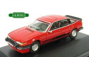 BNIB-OO-GAUGE-OXFORD-1-76-76SDV001-ROVER-SD1-3500-TARGA-RED-CAR