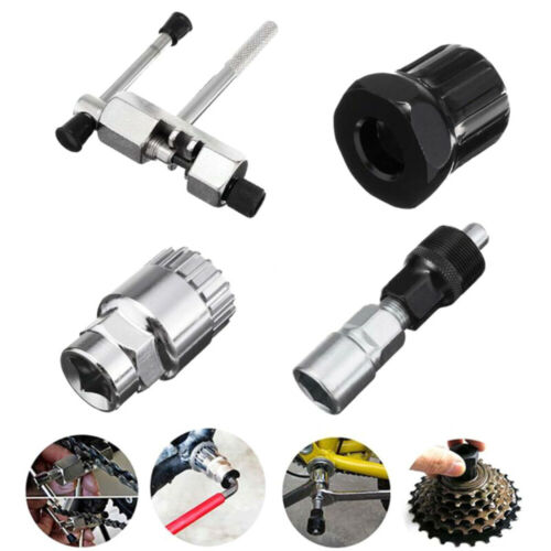 Mountain Bike MTB Bicycle Crank Chain Extractor Removal Repair Tool Kit Set M9L6