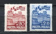 35753) POLAND 1953 MNH** People' Poland 2v. Scott# 582/83