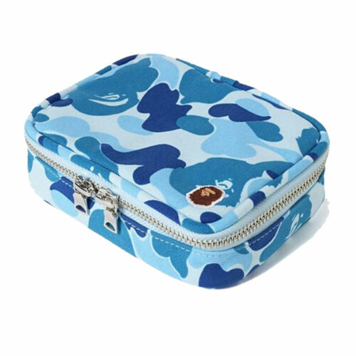 * A BATHING APE Men/'s ABC CAMO AMENITY POUCH 3colors Case From Japan New