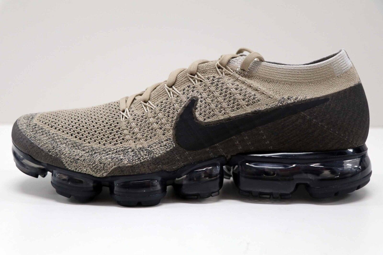 36a044b1a4468 ... Nike Air Vapormax Flyknit Pudding Khaki Black 849558 201 201 849558  Size 13 New in Box . ...
