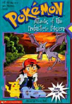 1 of 1 - The Attack of the Prehistoric Pokemon (Pokemon Chapter Book), West, Tracey, New