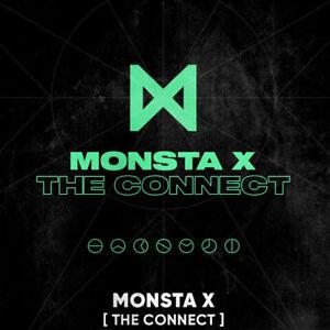 MONSTA-X-THE-CONNECT-DEJAVU-Album-CD-POSTER-Photo-Book-2Card-GIFT-K-POP-SEALED
