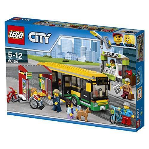 Lego City Bus Stop 60154 Nuovo da Giappone