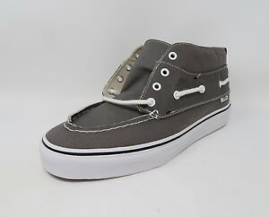 9d98f86f71 Vans Unisex Shoes Men Women Grey Chukka Del Barco Sneakers  2536