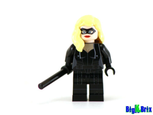BLACK CANARY Custom Printed on Lego Minifigure!