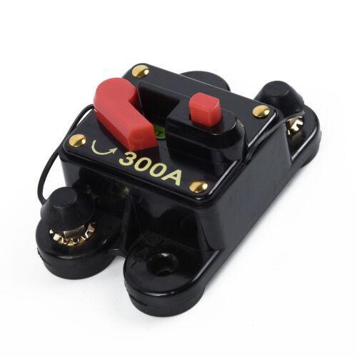 80A ~300A Disjoncteur Voiture Marine Stéréo Audio en Ligne Remplace Fuse12V-24V